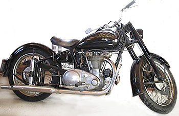 1949 Indian Scout motorcycle